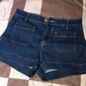 EXPRESS Hi-Waisted Shorts